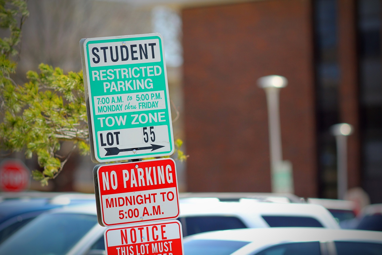 Student Restricted Parking