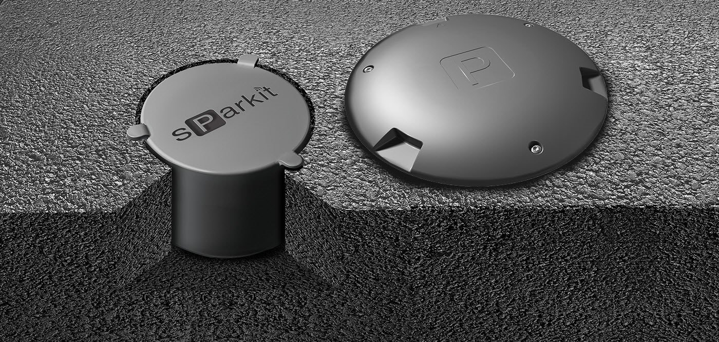 wireless vehicle detection sensors for parking: flush-mount & surface-mount